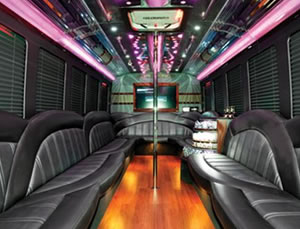 2012 Luxury Limo Bus interior