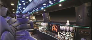 MKT stretch limousine interior